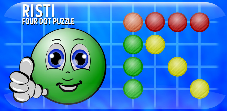 Risti - Four Dot Puzzle mobile game